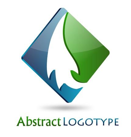 green company: Abstract Company Logo
