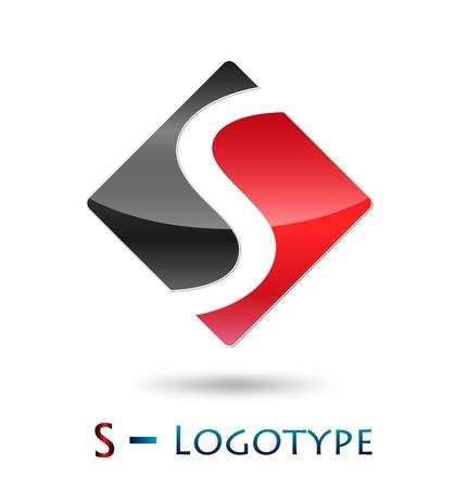 Logo initial letter S  Vector
