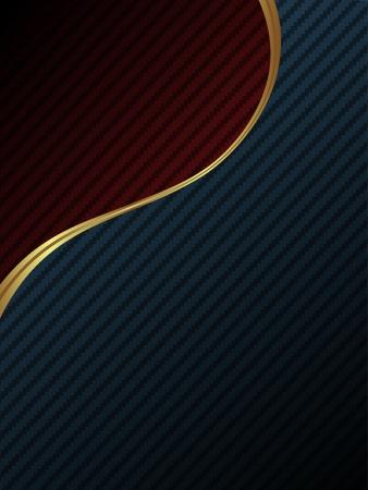 Luxury carbon fiber background