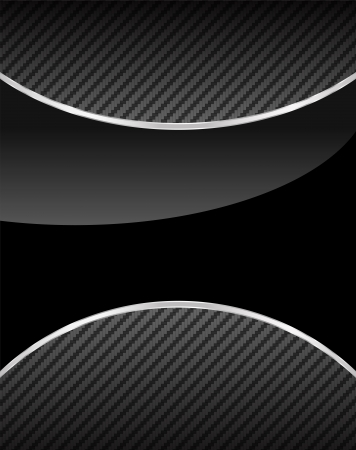 black metallic background: Abstract metal background