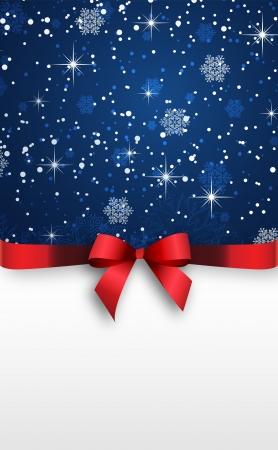 comida de navidad: Holiday bandera con fondo rojo Vector cintas Vectores