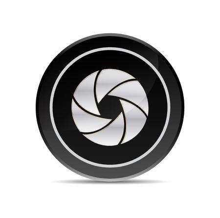 fotografi: vettore icona della fotocamera Vettoriali