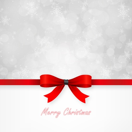 Magical Christmas card  Vector