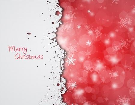 Grunge Christmas wallpaper  Stock Vector - 16423451