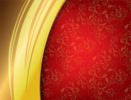 Red Luxury Background   Stock Vector - 16477877