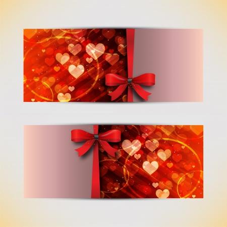 Amazing valentine cards background Stock Vector - 16719738