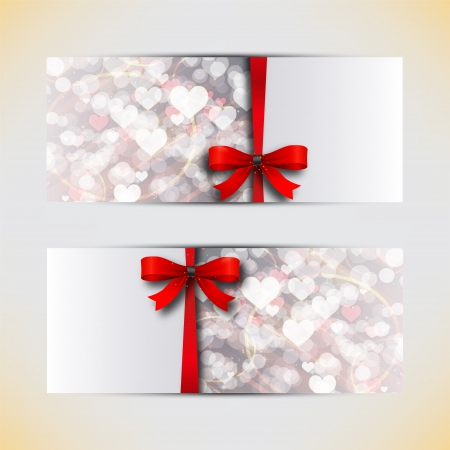 Amazing valentine cards background Stock Vector - 16719734