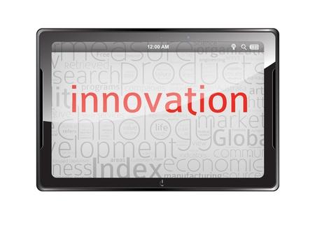 Innovation Tablet Stock Vector - 16754320