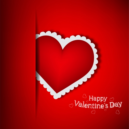 Red Pocket Love  Vector