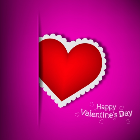 Purple Pocket Love  Vector