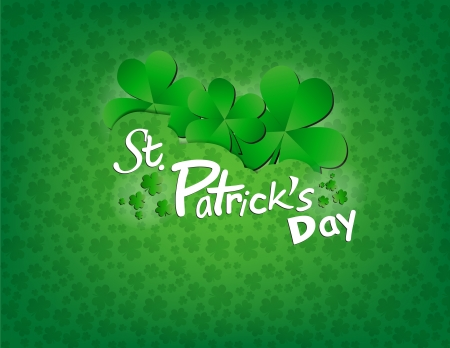Saint Patricks Day Background Stock Vector - 17332058