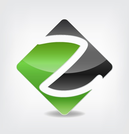Company symbol with the letter Z inside
