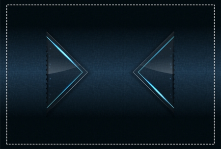 Stitched Textile and sparks theme background template (Part 4) Illustration
