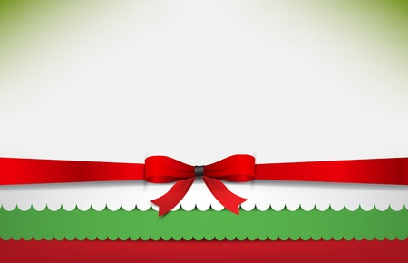 Abstract background with the Bulgaria Flag and a red bow.