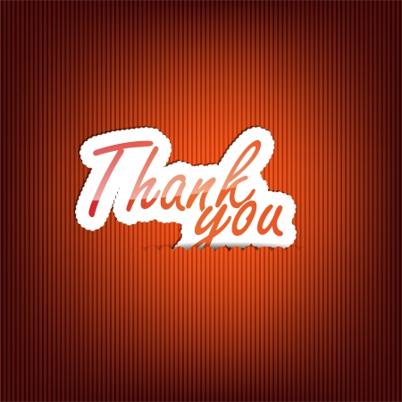 Thank you background with space for your text Vector