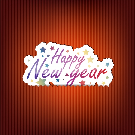 Happy New Year background with space for your text Stock Vector - 21731875