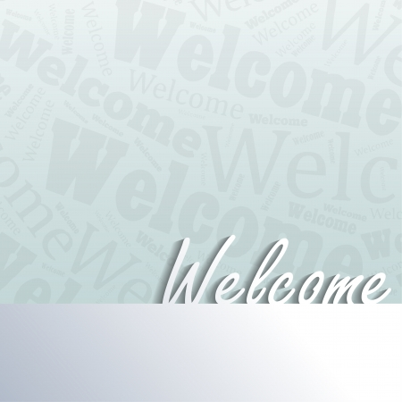 Welcome background with space for your text Stock Vector - 21798857