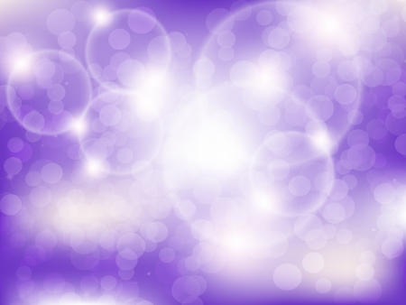 glows: Purple blurred  background with sparks and glows.