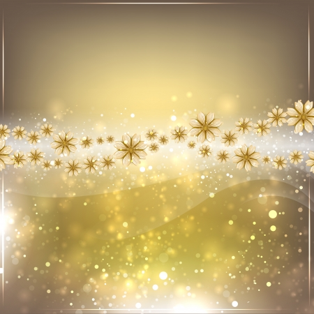 Gold abstract . Glow Wallpaper. Space for text. Illustration