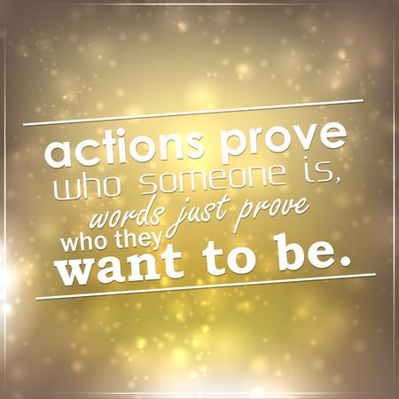 동작 누군가가 말은 단지 그들이 할 싶은 증명, 누가 증명한다. 동기 배경