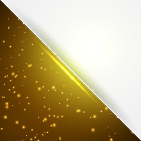 tarjeta amarilla: Tarjeta amarilla con el espacio