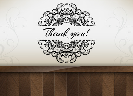 thank you very much: Thank you! Motivational poster.