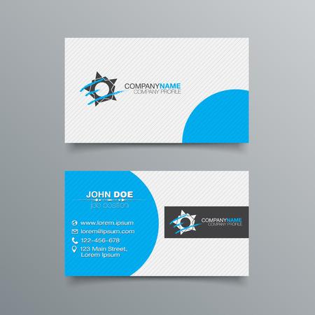Business Card Background Design Template. Stock Vector Illustration
