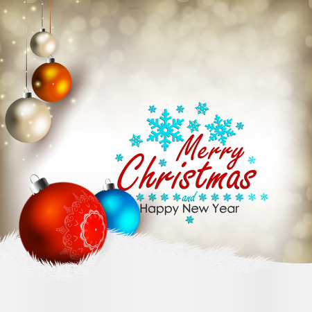 joyeux noel: Joyeux Noel et bonne ann�e! Carte de No�l.