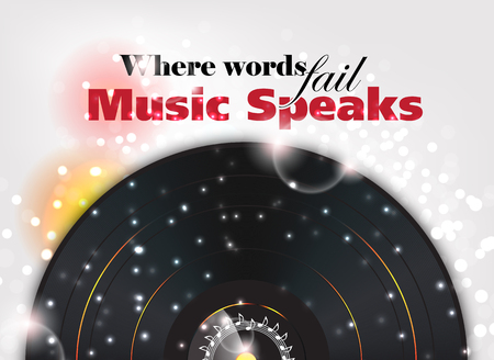 philosophy of music: Where words fail, Music speaks. Music background