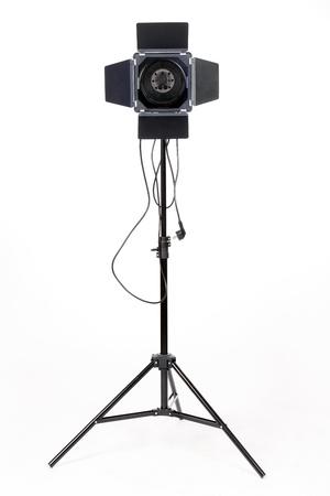 reflector: Photostudio with lighting equipment