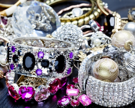 silver jewelry: Many fashionable women