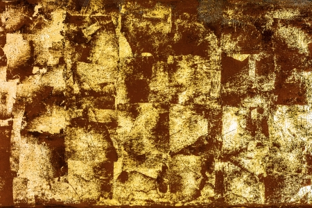 Luxurious vintage gold surface texture photo