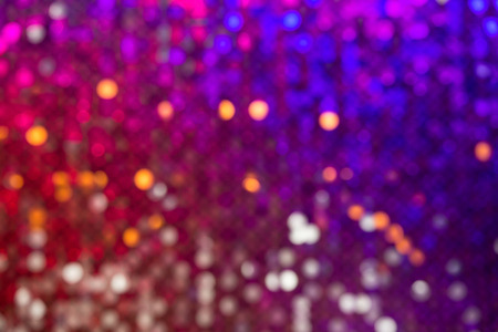 Beautiful abstract bokeh surface multicolored sparkles defocused on the background photo