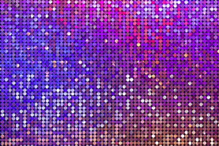 Beautiful abstract sparkles glitter background. Glittering sequins on the wall Stock Photo