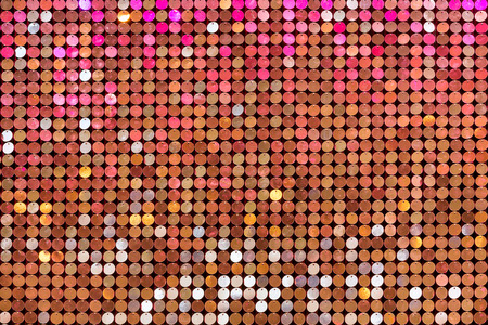 glam: Beautiful abstract sparkles glitter background. Glittering sequins on the wall Stock Photo