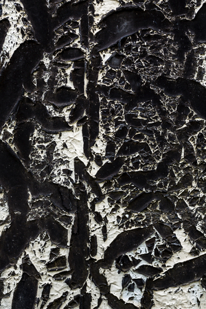 tar paper: Background of roofing of the old tar paper material on outdoor surface closeup