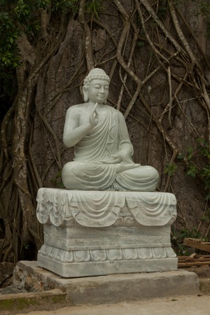 singly: Statue of Buddha Marble Mountains Danang, Vietnam, Asia