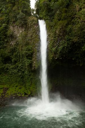 fortuna: La Fortuna Waterfall in the jungle of costa Rica Stock Photo