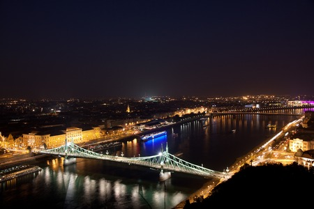 szechenyi: The Szechenyi Chain Bridge is a suspension bridge that spans the River Danube of Budapest, the capital of Hungary.