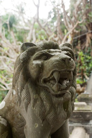 Stone statue of the Lion, Marble mountains, Vietnam