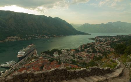 st: Montenegro. Bay of Kotor