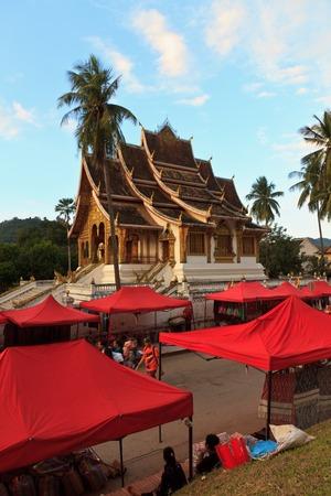 Buddha complexes in Luang Prabang Stock Photo
