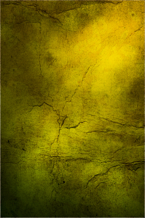 Old hard cracked paper background in dark colors Stock Photo