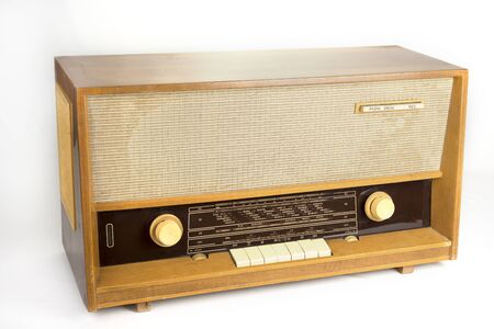 Retro radio from  the sixties manufactured in europe