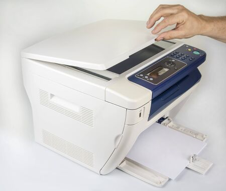 Multifunction printer  for printing scanning and copying