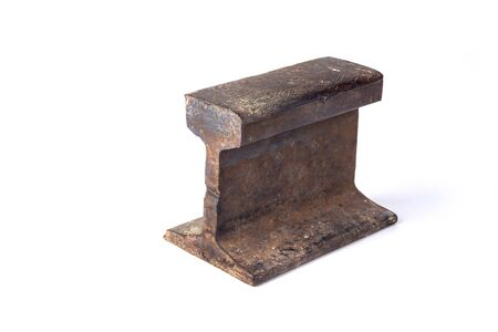 The anvil from an old rail