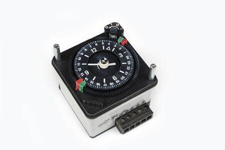 Time clock for heater boiler