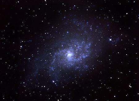 Spiral galaxy  Reklamní fotografie