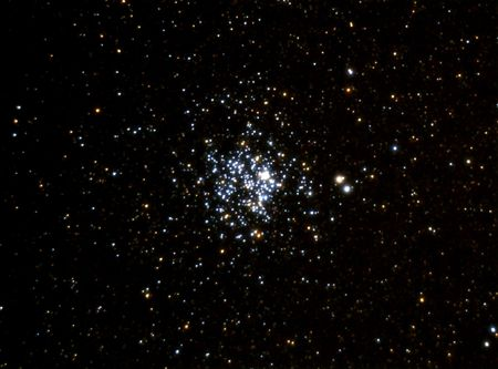 The Stellar Cluster is a high concentration of young stars
