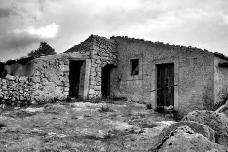 bewitched: Ancient rural house in the sicilian hinterland